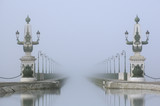 pont canal briare brume