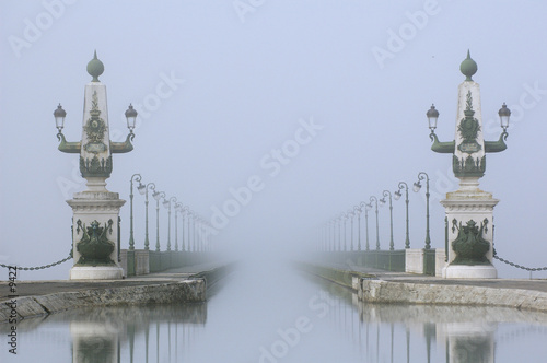pont canal briare brume - 9422