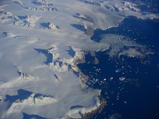 naissance d'icebergs