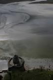 marée basse au mont st michel poster