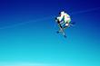 skieur  tail grab