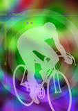 cycliste poster