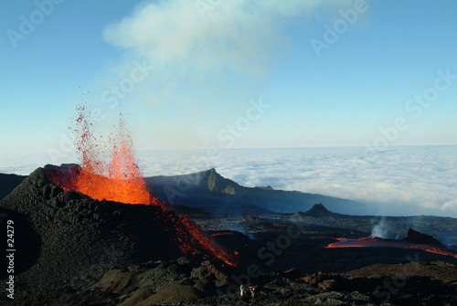 Leinwandbild Motiv volcan 5