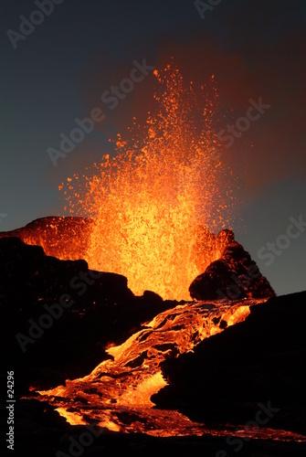 Leinwanddruck Bild volcan 6