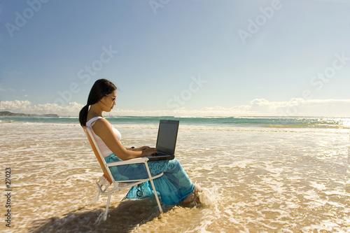 beach worker