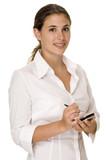 businesswoman poster