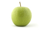 fresh green apple poster