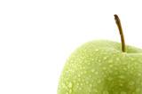 moist green apple poster