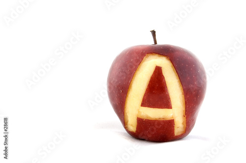 poster of a is for apple