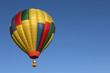 hot air balloon in flight