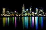 Fototapety perth at night