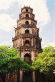 vietnamese pagoda poster