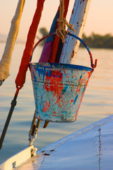 bailing bucket