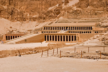 queen hatshepsut's temple, luxor, egypt