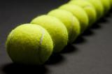 tennis balls macro 3 poster