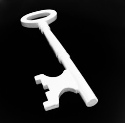abstract of a house key