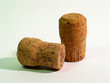 two old corks