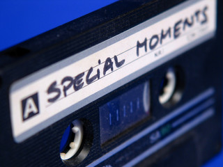 "old tape ""special moments"""