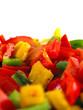 Fototapeta Pomidor - Warzywo - Przyprawa / Dressing / Olej roślinny