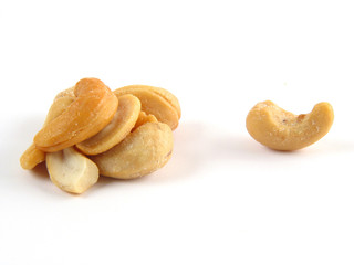 bunch of cashews
