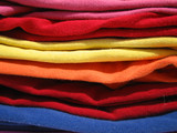colorful knits poster