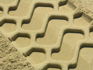 trace in the sand
