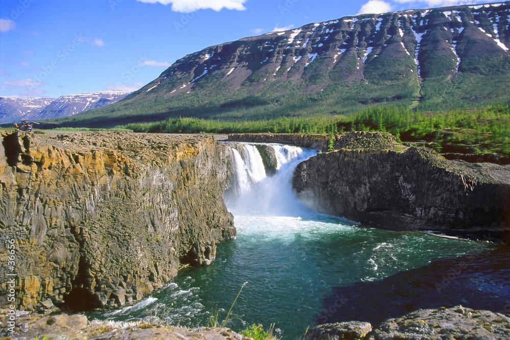 upadek kaskada rzeki - powiększenie