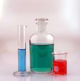 bottle, beaker, & cylinder poster