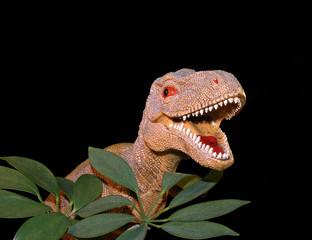 dinosaur & foliage