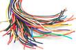Leinwandbild Motiv lots of cables