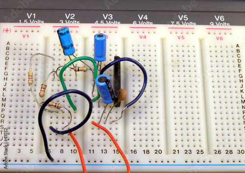electrical breadboard