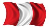 flag of peru poster