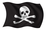 pirates flag poster