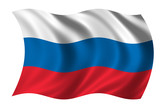 flag of russia poster