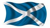 flag of scotland poster