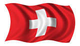 flag of switzerland poster