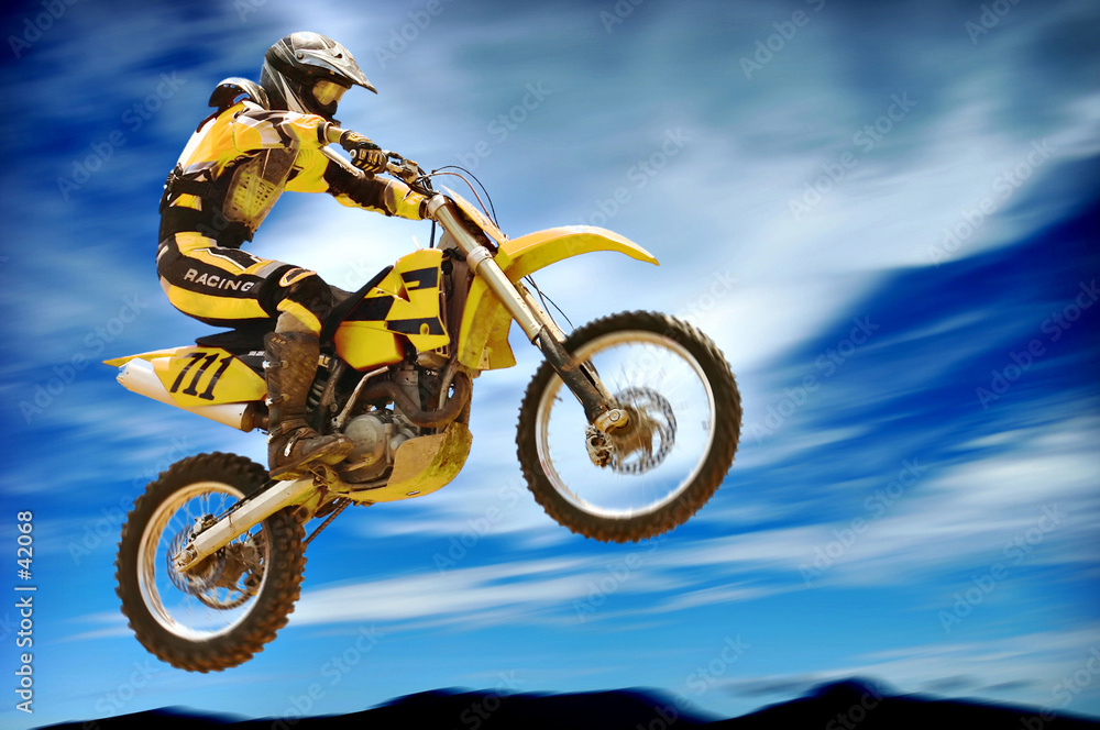 rower motocykl terenowy motocykl terenowy - powiększenie