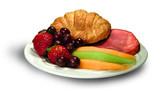 breakfast platter poster