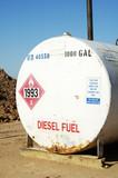 diesel storage tank poster