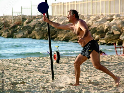 poster of beachball