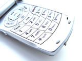 cellular phone keypad poster