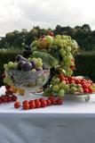 plat de fruit poster