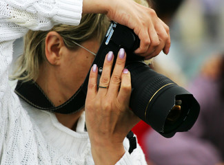 woman the photographer