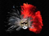 venetian mask poster