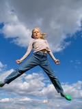 high jump poster