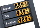gas prices - tomorrow poster