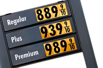gas prices - tomorrow