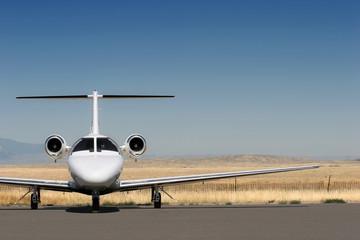 private corporate jet