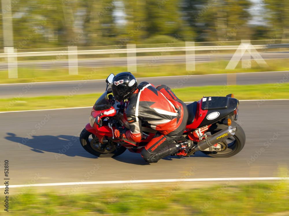 motorsport jeździec rower - powiększenie