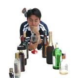 drinking man poster